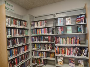 Books now on display in our Hebron Teen Area 2015