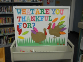 Interactive Board-What are you thankful for